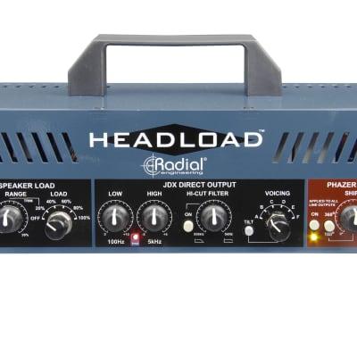 Radial Headload V8 Guitar Amp Load Box 8 Ohm Attenuator