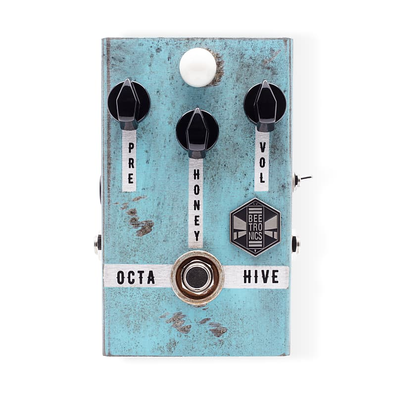 Beetronics Octahive High Octave Fuzz Effects Pedal
