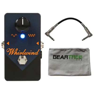 Whirlwind Rochester Series Orange Box Phaser Pedal w/ Cleaning Cloth and Cable
