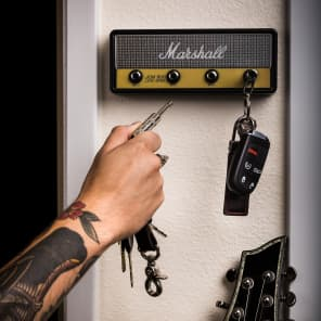 Pluginz Marshall JCM800 Chequered Jack Rack with Four Keychains