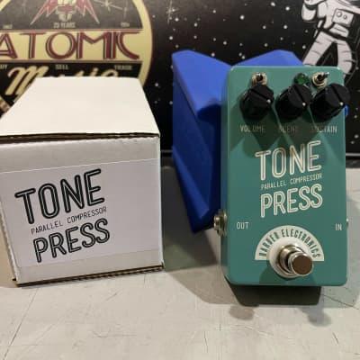 Barber Electronics Tone Press Compressor Pedal with Box tonepress for sale