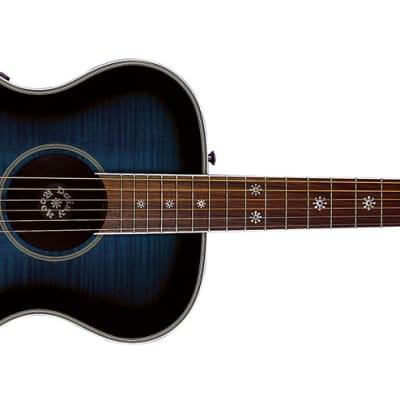 DAISY ROCK DR6221 Pixie acoustic electric GUITAR new - Blueberry Burst for sale