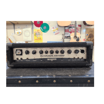 Behringer Ultrabass BX4500H Bass Head (used) for sale