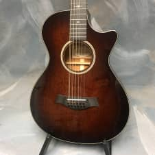 Taylor 562ce 12-fret 12-string 2017 Mahogany shaded edgeburst