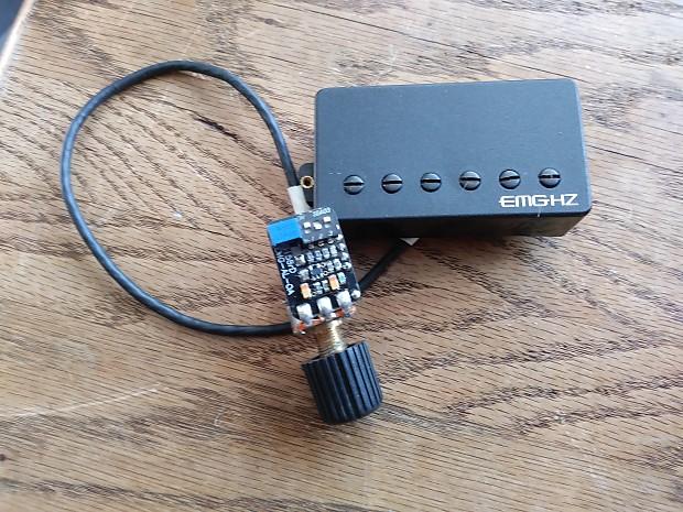 Emg Alx Alexi Laiho Hz Humbucker  Abq Boost With Eq