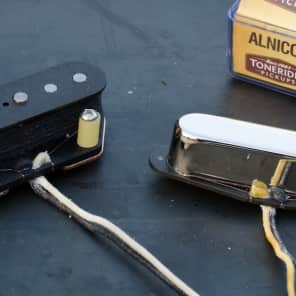 Tonerider TRT3 Alnico II Blues Tele set - nickel - left-handed