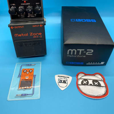 Boss MT-2 Metal Zone Distortion w/Original Box | Latest Version | Fast Shipping!