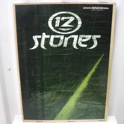 12 Stones Sheet Music Song Book Songbook Guitar Tab Tablature