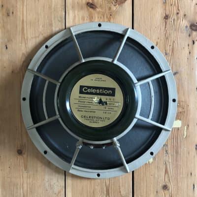 "Celestion greenback 15"" bass speaker 16 ohms 50 watts  1970 Marshall Orange Laney"