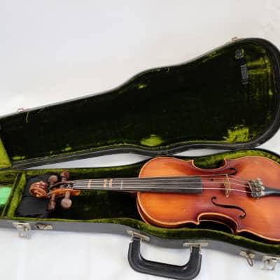 1976 E.R. Pfretzschner 4/4 Violin Stradivarius Copy w/ Case
