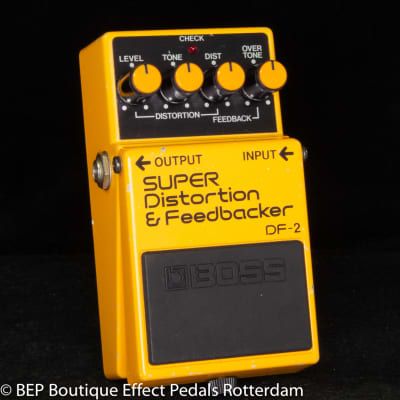 Boss DF-2 SUPER Distortion & Feedbacker 1984 s/n 480900 Japan