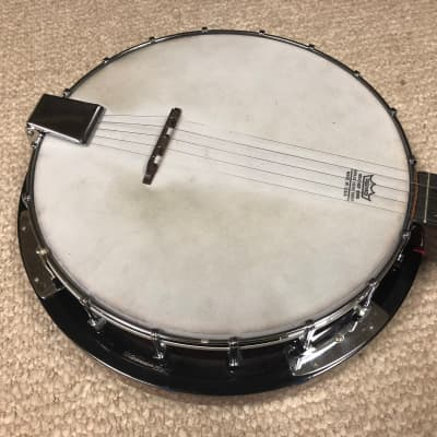 Vintage Antares 5-String Banjo ABJ-183 with Strap, Picks and Case for sale