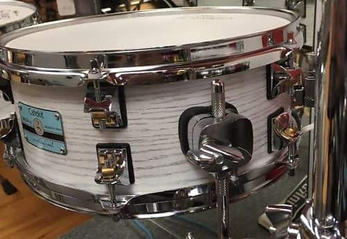 Odery Cafe Drum Set White Ash Expansive Kit Cafe Exp Wha