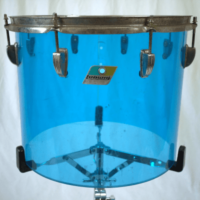 """1970s Ludwig Vistalite 12x15"""" Concert Tom with Single-Color Finish"""