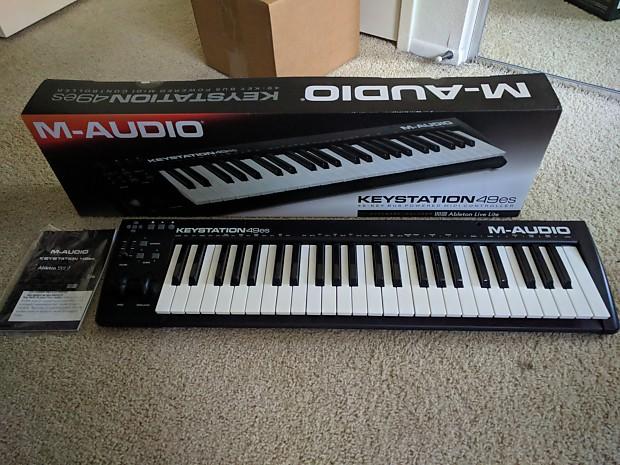 M-Audio Keystation 49es with Ableton Lite, Like New, Free Shipping