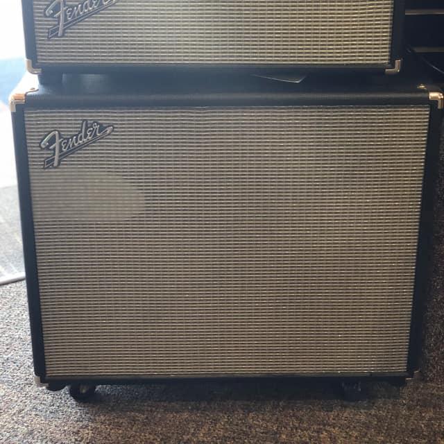 "Fender Bassman Pro 500W Hybrid Bass Head and Fender Bassman 410 Neo 4x10"" 500-Watt Cabinet image"