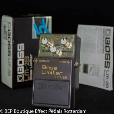 Boss LM-2B Bass Limiter s/n ZB74821 1990