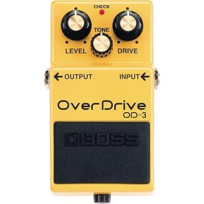 BOSS OD-3 Overdrive Guitar Bass Effects Pedal