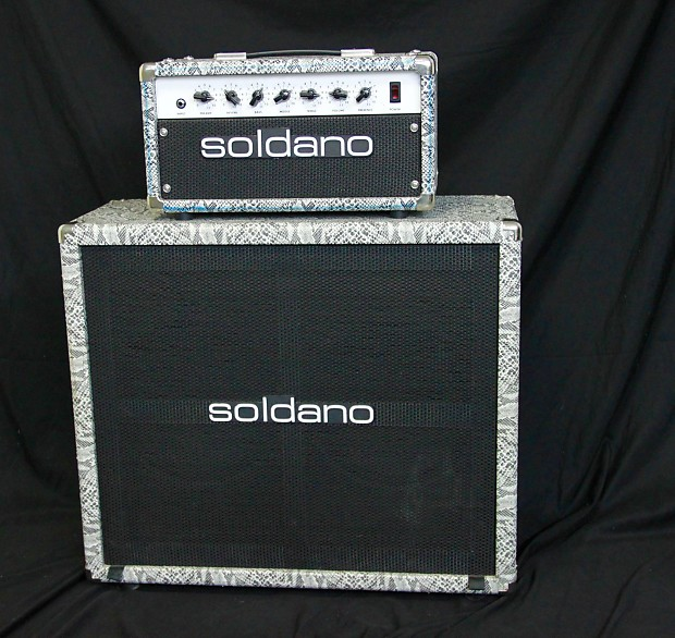 Soldano 20watt Astroverb Head with 2x12 Cab In The Color Of | Reverb