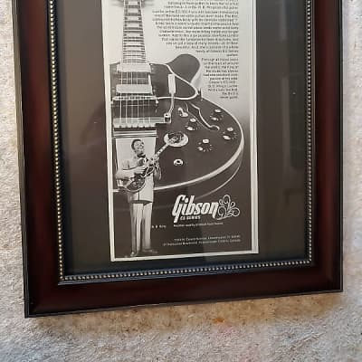 1977 Gibson Guitars Promotional B. B. King Lucille Gibson ES-355 Original