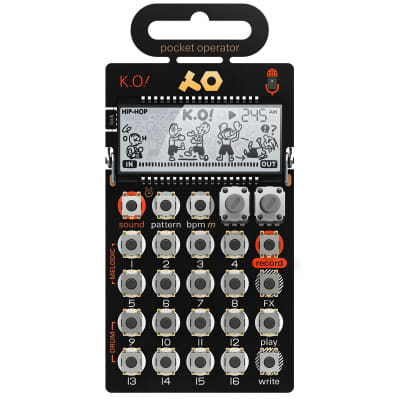 Teenage Engineering Pocket Operator PO-33 KO Micro Sampler image