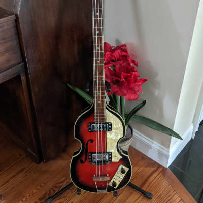 1960s / 1970s Sekova Violin Bass - 500/1 Beatle Bass Copy - Vintage - MIJ for sale