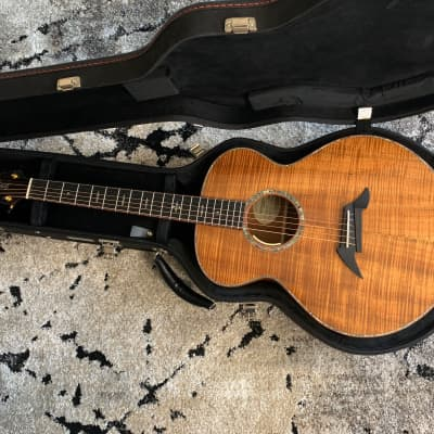 Breedlove Exotic King Koa Auditorium with Electronics Natural for sale