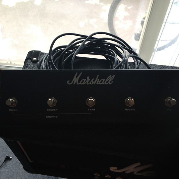 marshall jcm 2000 tsl 60 with footswitch reverb. Black Bedroom Furniture Sets. Home Design Ideas