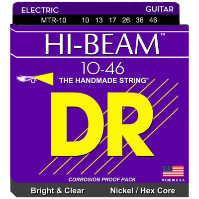 DR Strings MTR-10 Hi-Beam Nickel Electric Medium 10-46
