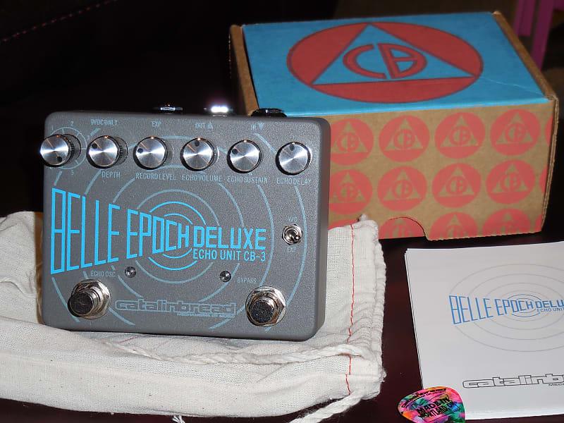 Catalinbread Belle Epoch Deluxe CB3 delay pedal w/box