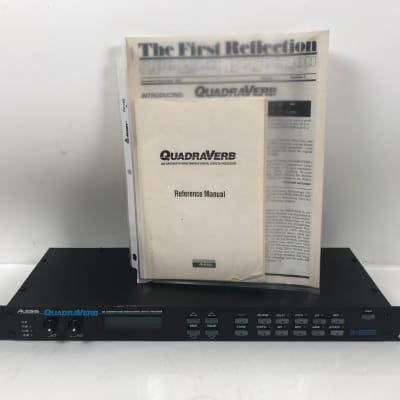 Alesis QuadraVerb 20K Bandwidth Simultaneous Digital Effects Processor