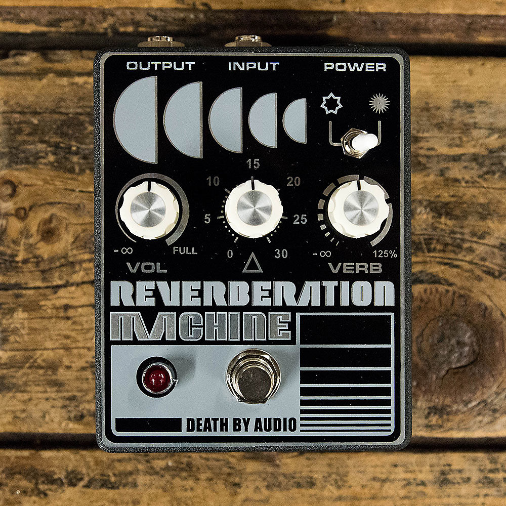 Death By Audio Reverberation Machine Reverb Used FREE 2 DAY SHIP