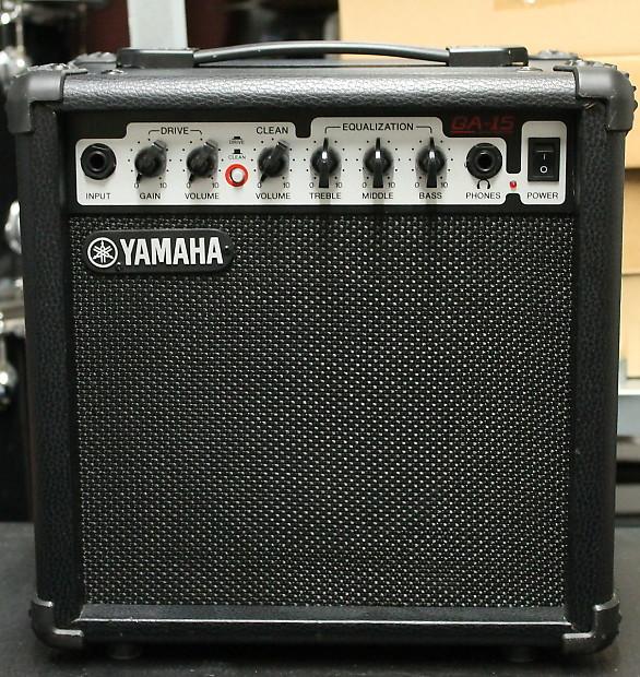 Yamaha Guitar Amp History