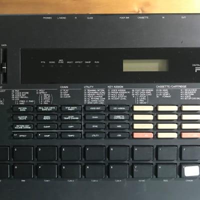 Yamaha RX7 Rhythm Programmer Drum Machine