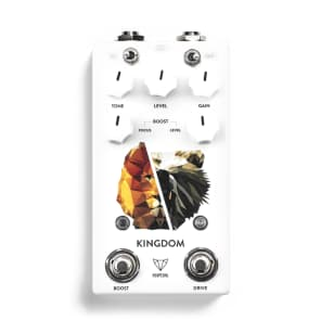 NEW! Foxpedal - Kingdom Combo V2 Transparent Overdrive / Boost FREE SHIPPING!