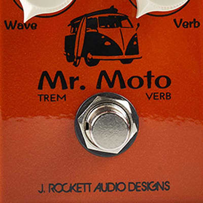 J. Rockett Audio Designs Tour Series Mr. Moto Tremolo Guitar Effects Pedal for sale