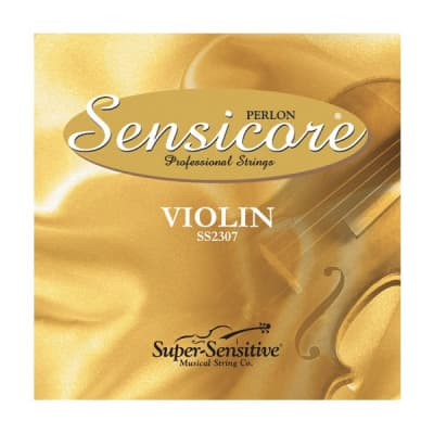 Super-Sensitive Sensicore Perlon Violin String Set 4/4