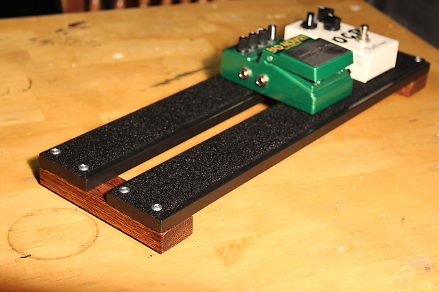 18x6 small hand made pedal board for guitar or bass reverb. Black Bedroom Furniture Sets. Home Design Ideas