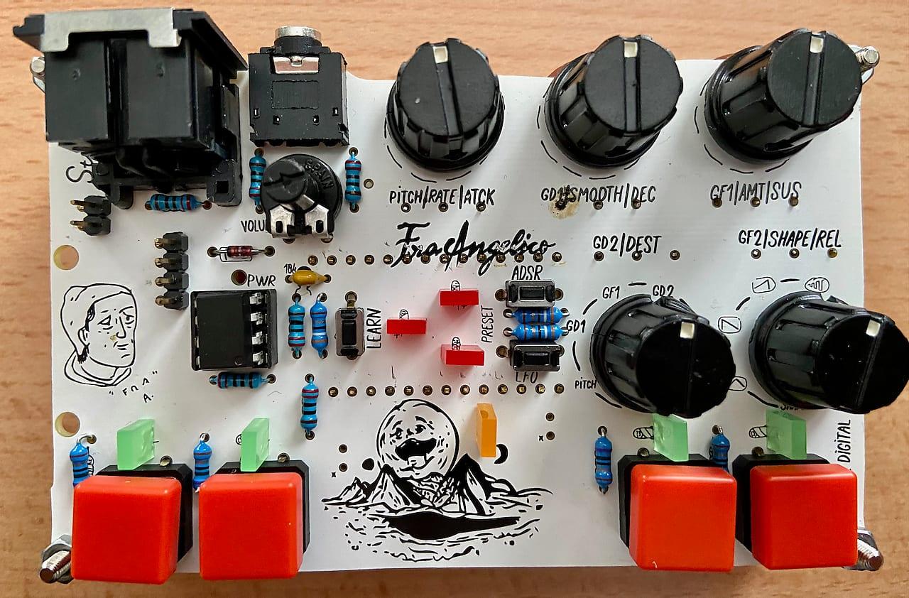 Rare Standuino (Bastl) fraAngelico Digital Granular Synthesizer