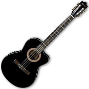 Ibanez GA35CEBKN Classic Electric Acoustic Guitar Black