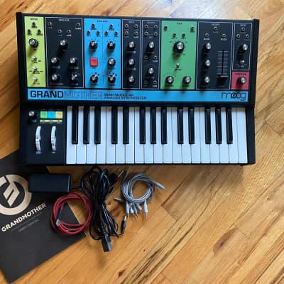 Moog Grandmother 32-Key Semi-Modular Analog Synthesizer