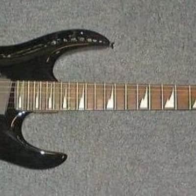 Electric Guitar LAG Arkane AK200 Black Stock B for sale