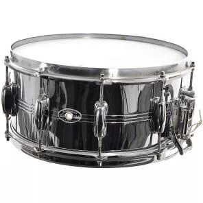 "Slingerland No. 193 TDR 6.5x14"" 10-Lug Chrome Over Brass Snare Drum 1979"