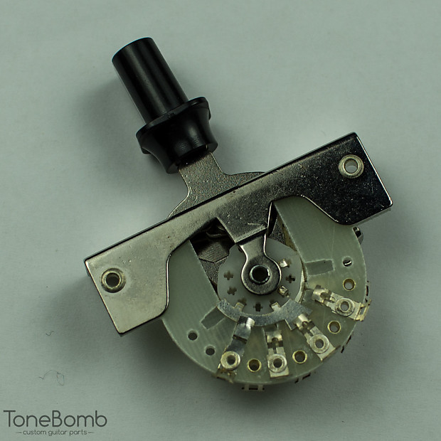 3 Way Switch For Fender Tele Telecaster (Replaces CRL 1452) Black Top Hat