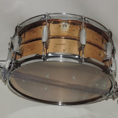 "Ludwig LB556 Bronze Super-Sensitive 6.5x14"" Snare Drum 1985 - 2016"