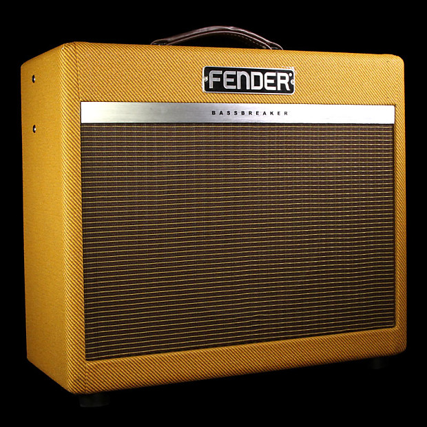 fender bassbreaker 15 ltd 15w 1x12 combo reverb. Black Bedroom Furniture Sets. Home Design Ideas