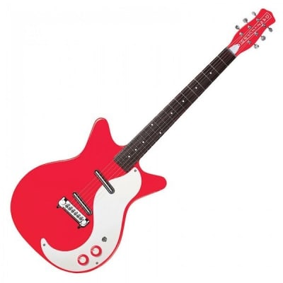 Danelectro DC59M NOS Modified, Right on Red for sale