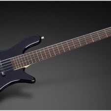 Warwick RockBass Streamer LX 5-String, Black Solid High Polish, Active, Fretted, Free Shipping