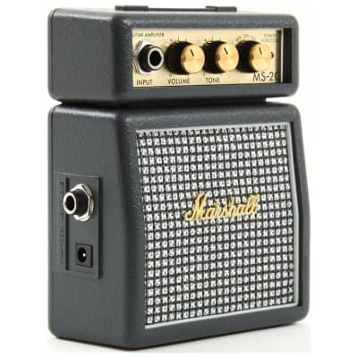 Marshall MS-2C 1W Battery-Powered Classic Micro Guitar Amp