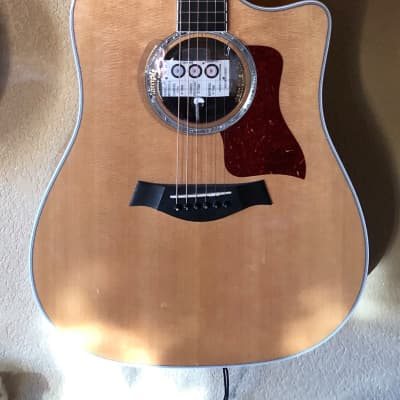 Taylor 600 Series 610ce 2006 Natural 6-String Acoustic Electric Guitar with OHSC
